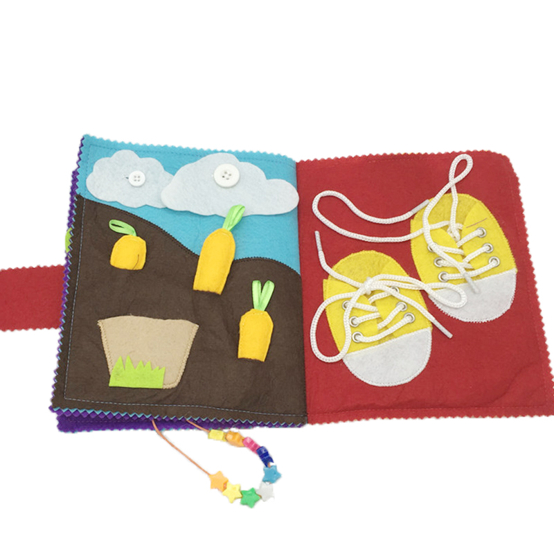Նոր փափուկ մանկական հագուստի գրքեր - Խաղալիքներ նորածինների համար - Լուսանկար 1
