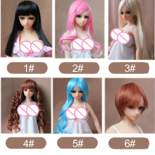 WM Doll Wig for 65cm sex doll and silicone mini sex doll free shipping