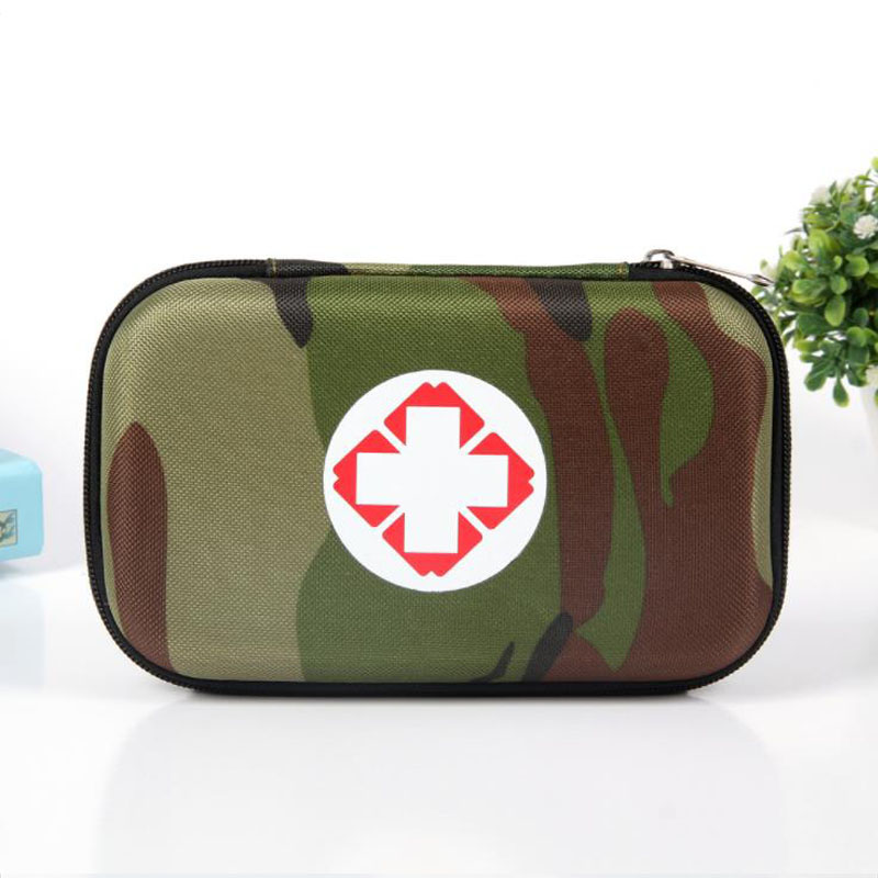 Camouflage Emergency Kits Outdoor Person Portable EVA Small First Aid Kit Bag For Family Travel Security Medical Storage Bag