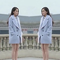 2017 New Arrival Fashion Loose Light Blue Turn Down Collar Women Coat Plus Size Spring Outerwear Thick Women Top Coat LZ019