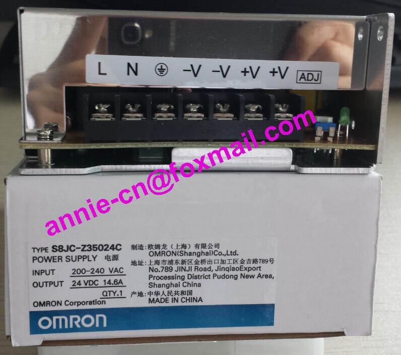 ФОТО S8JC-Z35024C  New and original  OMRON Power supply Power switch    350W   24V