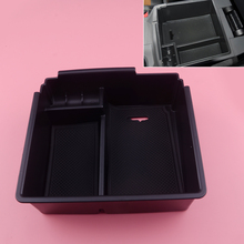 DWCX Car Center Console Armrest Storage Box Glove Tray Case Fit for Ford Ranger 2012 2013 2014 2015 2016 2017 2018 hot black armrest storage box storage box armrest center console for honda fit 2014 2015 only fit for low equiped model