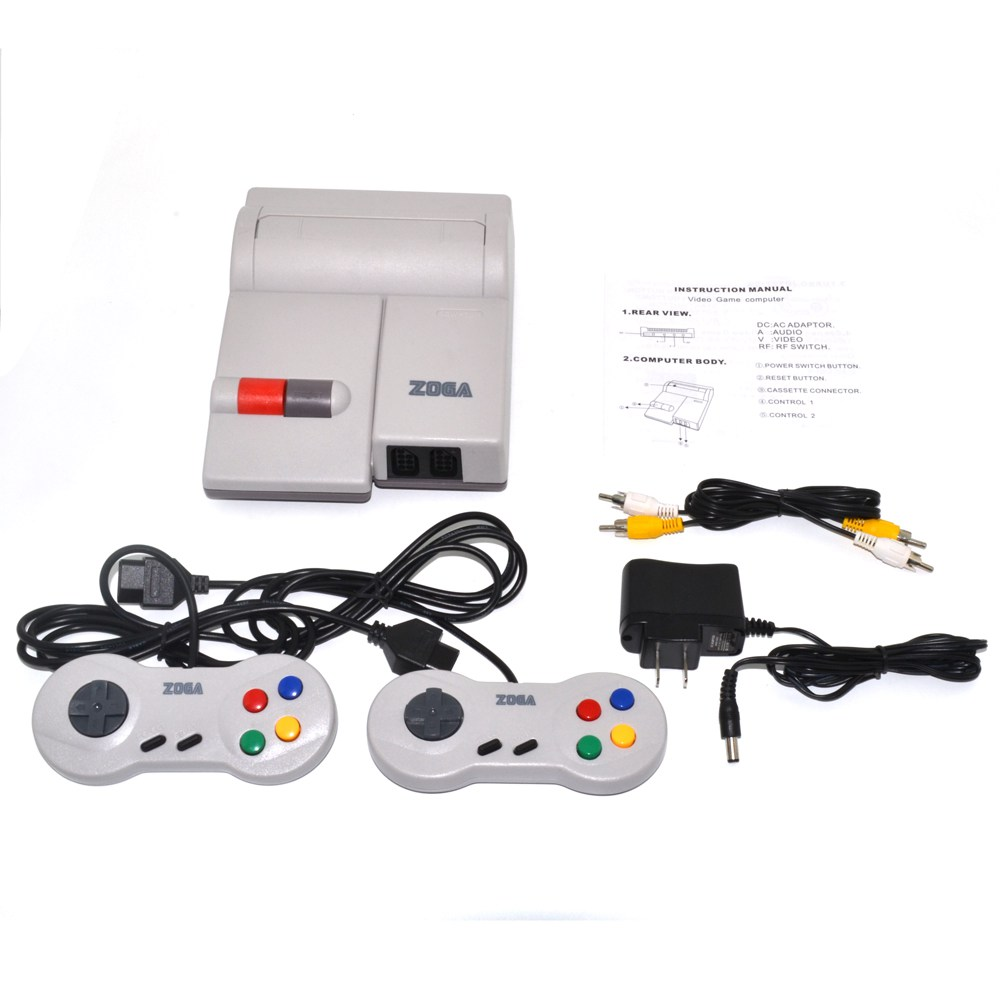 US $39 47 17% OFF|For NES 101 Clone Console include Two Controllers and  cables EU or US plug without game cartridge-in Replacement Parts &  Accessories