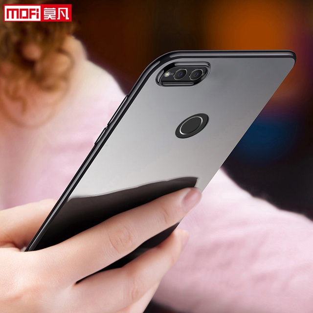 the latest e00ad c37a8 US $4.93 23% OFF|Huawei Honor 7X Case Huawei Honor 7X Case Cover Silicone  Ultra Thin Back TPU Funda Mofi Back Clear 5.93 Huawei Honor 7X Case-in ...
