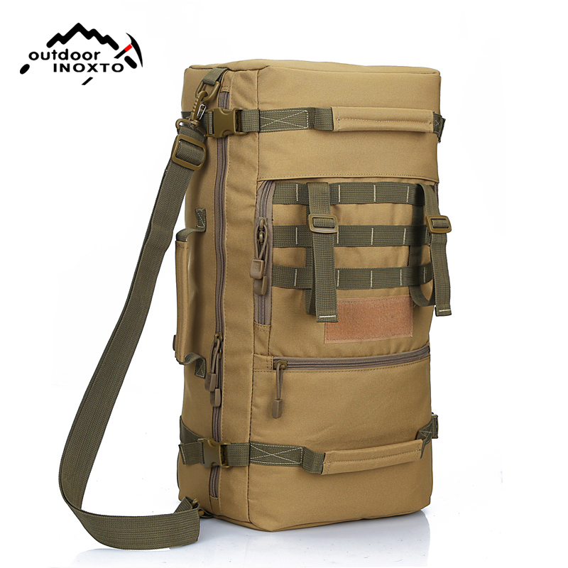 Hommes sacs à dos qualité 50L nouveau militaire tactique sac à dos Camping sacs alpinisme sac hommes randonnée sac à dos voyage sac à dos
