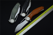 The Green Knight 2 knife stab G10 handle D2 steel outdoor camping multifunctional EDC tools