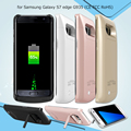 Mobile Phone Case for Samsung S7 edge Case 5000mAh Backup Battery Cover for Samsung Galaxy S7 edge G935 (CE FCC RoHS) Cover Back