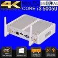 Eglobal intel core i3 5005u e celeron n3050 n3150 em mini pc windows10 htpc computador desktop 2 ghz hd 5500 gráficos 4 k hdmi VGA