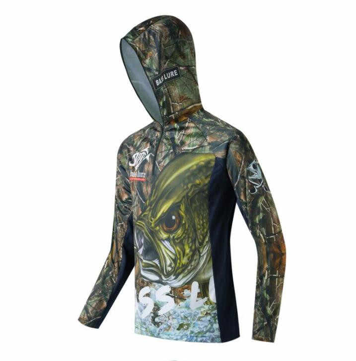 90103734 2018 NEW Fishing clothes summer Sunscreen Breathable Long sleeve Ultrathin  Cold sensation Quick dry outdoor Hooded