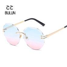 2018 Nueva Moda gafas de Sol Mujeres diseñador de la marca de gafas de Sol  Retro Clásico Gradiente Hembra gafas de Sol Hombres d. 2bf8ca998f1e