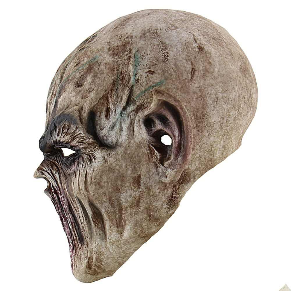 Adulto Máscara de Halloween Assustador Horror Sangrento Zombie Monstro Vampiro Máscara De Látex Partido Do Traje Cabeça Cheia Máscara Cosplay Masquerade Adereços