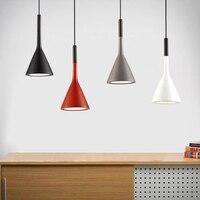[DBF] אמנות תליית מנורות תליון חדר אוכל אורות תליון מודרניים מנורות מסעדת בר קפה בית ברזל תאורה + שרף בעל E14