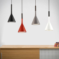 Modern Art Pendant Lamps Led Painted Aluminum Classic Pendant Dining Room Light Modern Pendant Loft Bar