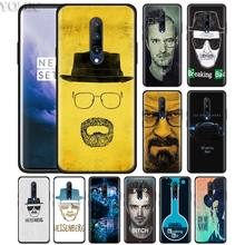 breaking bad heisenberg Phone Case for Oneplus 7 7Pro 6 6T Oneplus 7 Pro 6T Black Silicone Soft Case Cover