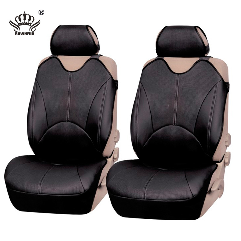 PU Leather Automotive Universal Car Seat Covers T Shit Fit
