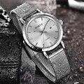 Роскошные брендовые новые женские часы  полностью Стальные кварцевые часы с датой  женские водонепроницаемые Модные Повседневные спортивн...