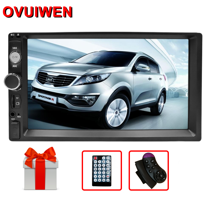 OVUIWEN 2 Din Car Radio 7