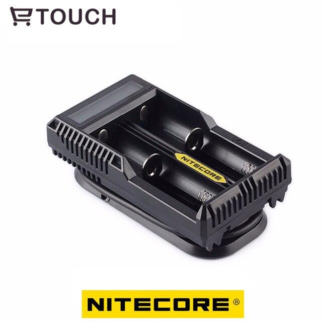 18650 Carregador de bateria com Display LCD Bateria Nitecore UM20 Cabos Usb Universal para banco de potência de Bateria Inteligente 18650