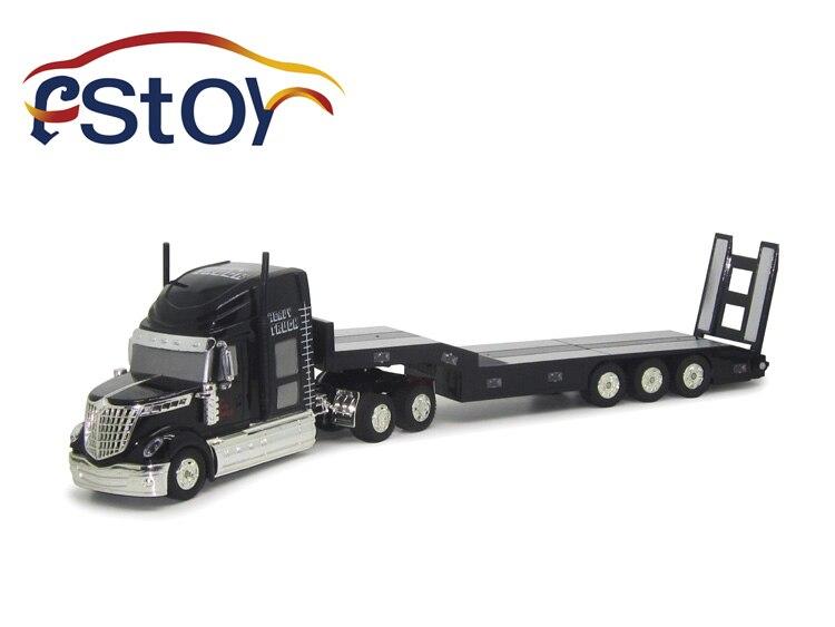 1 32 6CH Multi function Trailer Remote Control RC Semi Truck Car Ready To Run