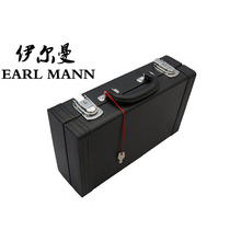 Graceful PU Hard Case For Clarinet Instruments Luggage And Bags Trunk Imitate Leather Clarinete Box