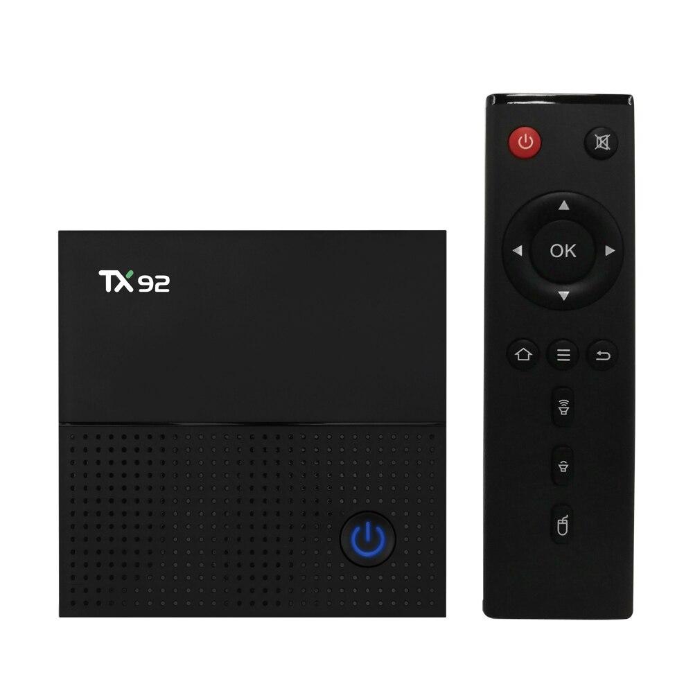 TX92 3GB DDR4 64GB ROM Android 7 1 TV Box Amlogic S912 Octa core Smart 4K