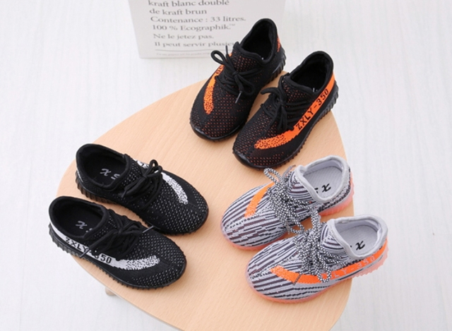 Kids Shoes Spring summer Boys Sneakers  Boys for girl princess pink black Casual Sports Children Shoes casual school soft bottom