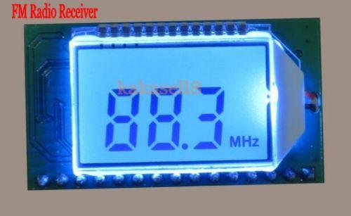 PLL LCD Digital FM Radio Receiver Module 87 108MHZ Wireless Microphone Stereo