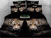 Comforter Bedding sets Animal print Bedding 3D Leopard quilt duvet cover bed sheet linen bedspread Super King queen 4PCS 5PCS