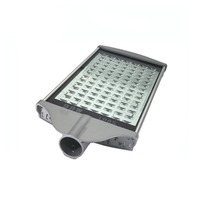 2X Professional manufacturer of LED street light 98W IP65 with Bridgelux chip high efficience round lamp express free shipping