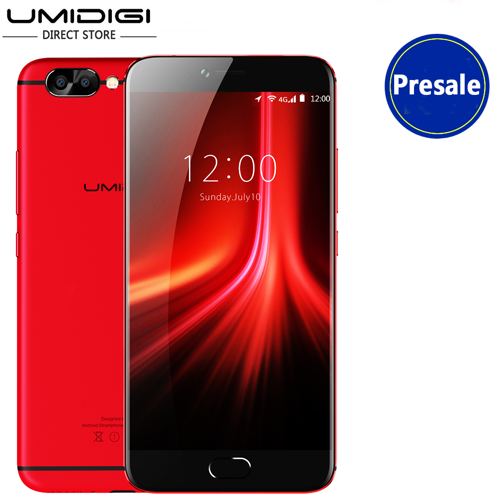 Umidigi Z1 Pro Smartphone 6G RAM 64G ROM Unlock Mobile Phone 5.5' Ultra Slim FHD Octa-Core Front Touch ID 4000mAH Battery 13MP
