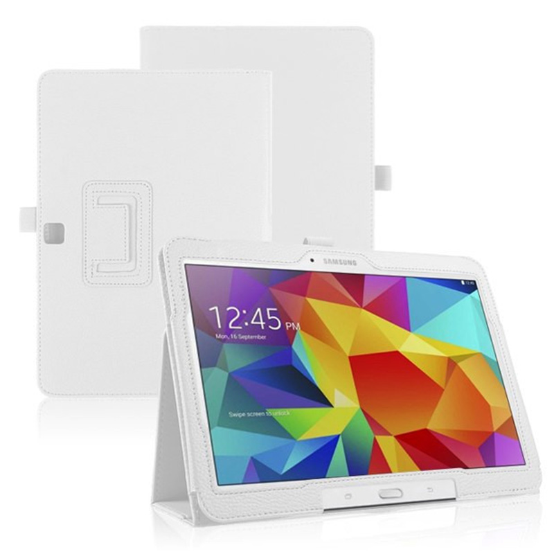 Tablet Business PU Leather Stand <font><b>Case</b></font> Cover For Samsung Galaxy Tab 3 10.1 inch P5200 P5220 <font><b>P5210</b></font> With Magnetic Auto Sleep image