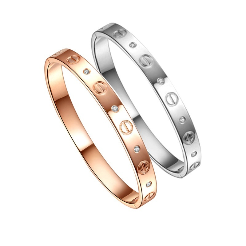 Sale Top Quality Fashion Brand Lady Rose Gold Silver