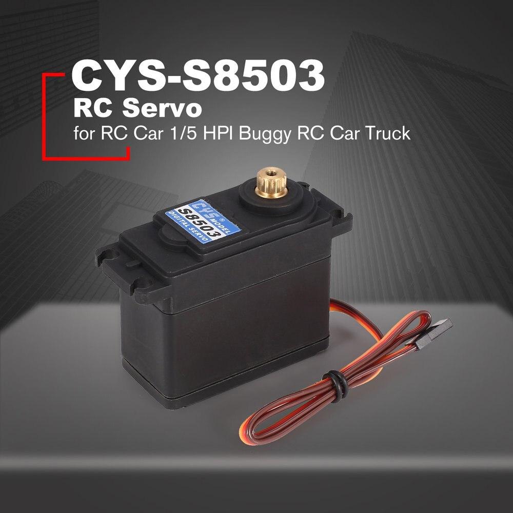 Useful CYS S8503 30kg Metal Digital Gear for 1//5 Redcat HPI Baja 5B SS RC Car Br