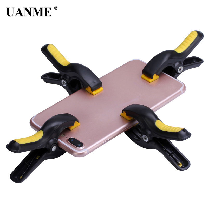UANME 3 3 Inch Heavy Duty Plastic Nylon Spring Clamps Clip Jaw Opening Craft Photo Clip for DIY Woodworking Tools in Pliers from Tools