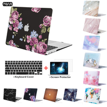 New Hand Laptop Case For Apple Macbook Air Pro Retina 11 13 15 with touch bar shell MacBook Cover