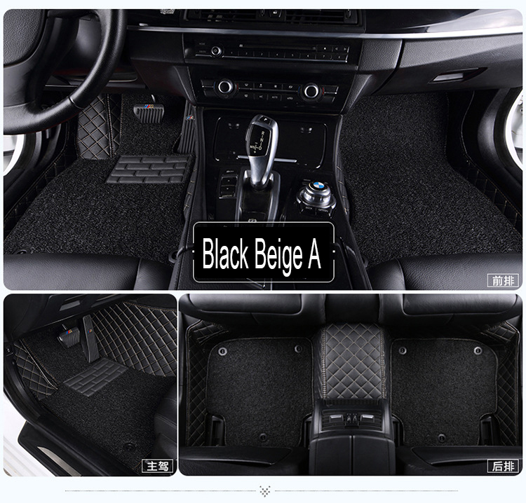 Car floor mats for Mercedes Benz A B180 C200 E260 CL CLA G GLK300 leather Anti-slip car-styling carpet linerCar floor mats for Mercedes Benz A B180 C200 E260 CL CLA G GLK300 leather Anti-slip car-styling carpet liner