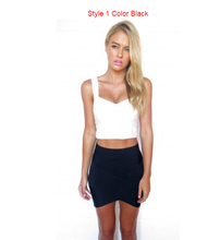 IMC andage Rayon Good Elastic Women Skirts Mini Sexy Slim Pencil Clubwear Suitable Casual Formal Candy