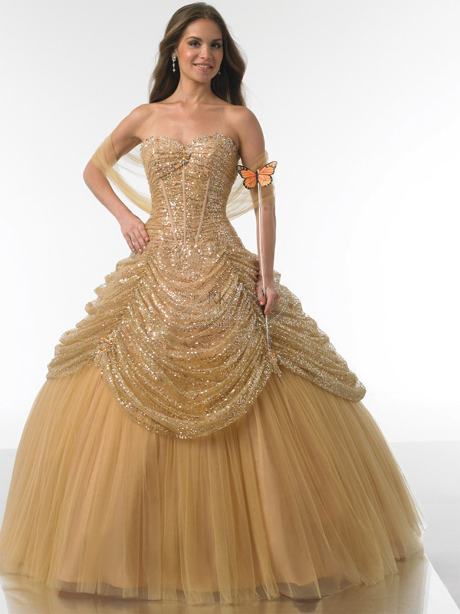 Aliexpress.com : Buy Gold Quinceanera Dresses Online Dresses Ball ...