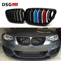 2 series F22 Carbon Fiber Front Racing Grille for BMW M2 F87 F23 Kidney Bumper Grill 2014+