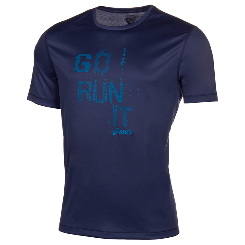 Male T-Shirt ASICS 125141-8133 sports and entertainment for men 8133 504 13