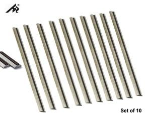 """Image 2 - Hertz 10 pces tct carboneto de tungstênio 3 1/4 """"lâminas de faca de plaina de 82mm para makita, bosch, dewalt, preto & decker, ryobi, idade"""
