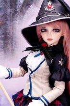 Mirwen 1/4 modelo boneca bjd para meninas e meninos brinquedos Loja de maquiagem olhos de Alta qualidade Resina