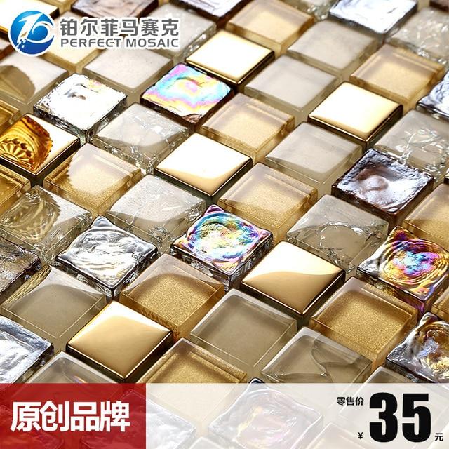 Starlight Glas Kristall Mosaik HC70 Hintergrund Wohnzimmer ...