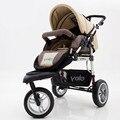 2016 Новый Портативный Детские Коляски Алюминиевого Высокое Пейзаже Малолитражного Автомобиля Противоударный Складной Ребенка Трицикл 3 Колеса Коляски для Новорожденных C01