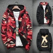 Jacket Coats Plus Size M-4XL Causal Hooded Camouflage Jacket Thin Windbreaker Outwear Spring Autumn Bomber Jackets Men