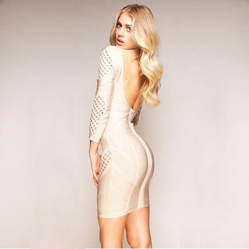 68be1166d5cae 2015 New Fashion Women Party Trend Night Bandage Prom Dress Yeni Moda Kadin  Giyim Abiye Gece Balo Parti Bayan Bandaj Elbise-in Dresses from Women's  Clothing ...