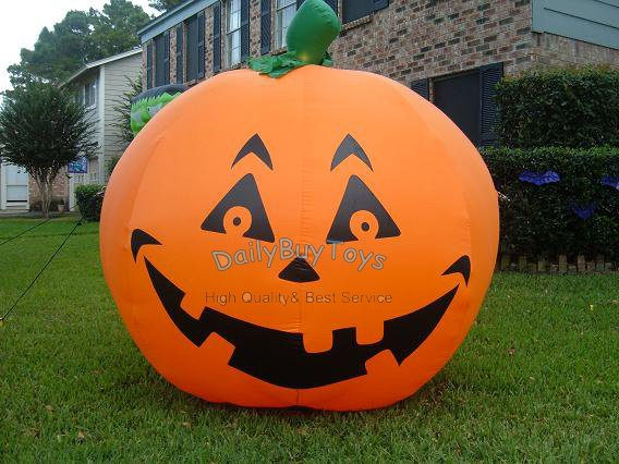 dp27 8ft 24m ceul blower included inflatable halloween pumpkin holiday decorations 1 - Blow Up Halloween Decorations