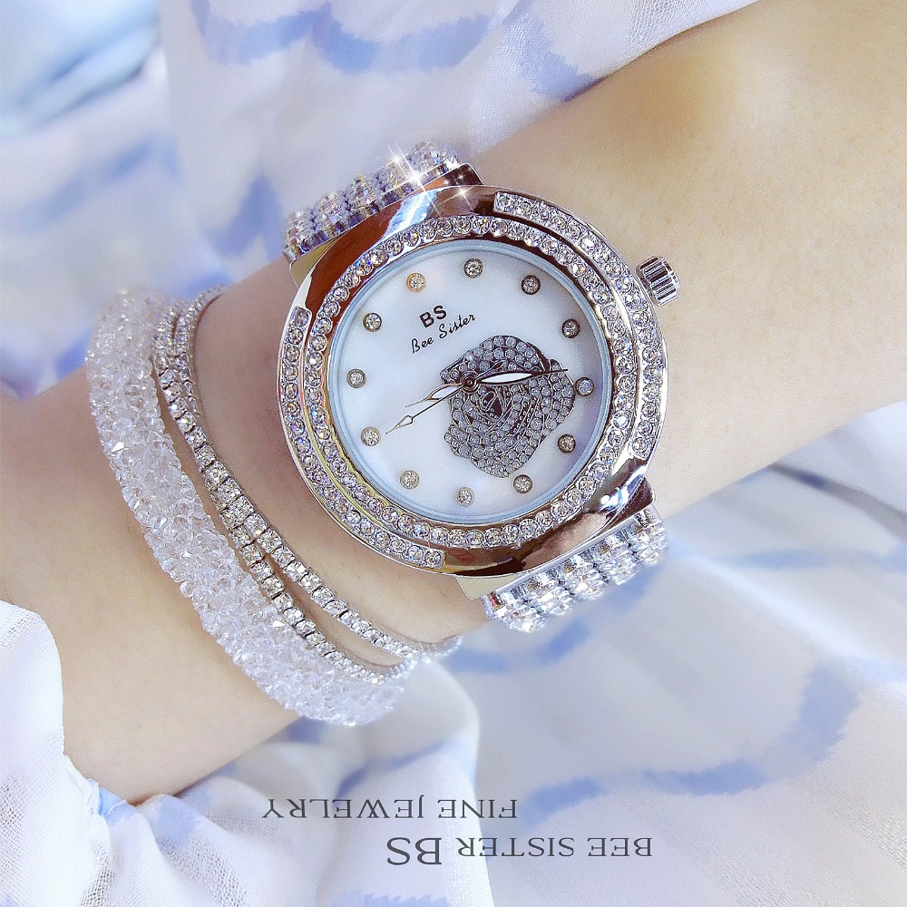 New Fashion Famous Brand Silver Flower Luxury Watch Lady Dress Watch Bracelet Quartz Rhinestone Bling Crystal Bangle Watches 2016 new fashion famous bs brand full crytal oval women watch lady luxury silver diamond dress watch rhinestone bangle bracelet