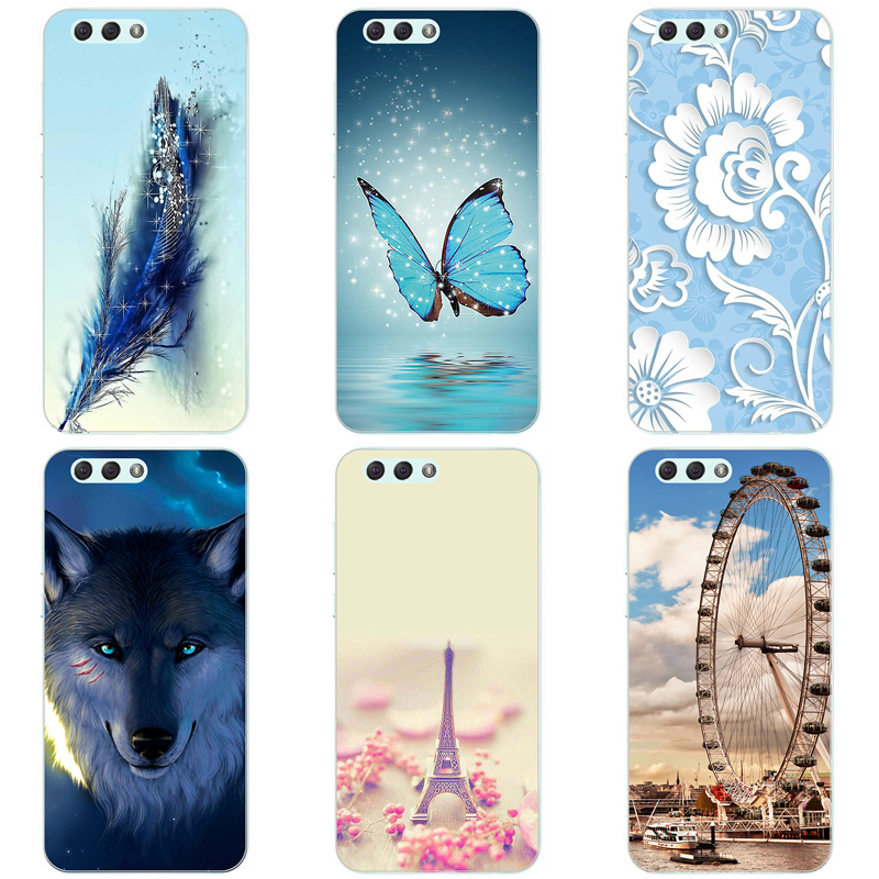 Soft Silicone Phone Case for Asus Zenfone 4 ZE554KL Zenfone4 ZE 554KL 5.5 inch Colorful Painting Phone Protector Back Cover Case