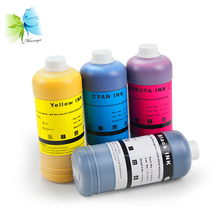 Winnerjet 1000ml/bottle BK C M Y Dye Ink & Pigment Ink Refill For HP 4000 4500 4020 4520 Large Format Printer все цены
